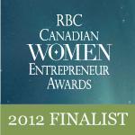 Sarah Sajedi 2012 RBC Award Finalist