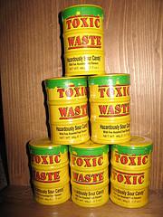 Hazardous waste report. Image credit: cosmic_spanner