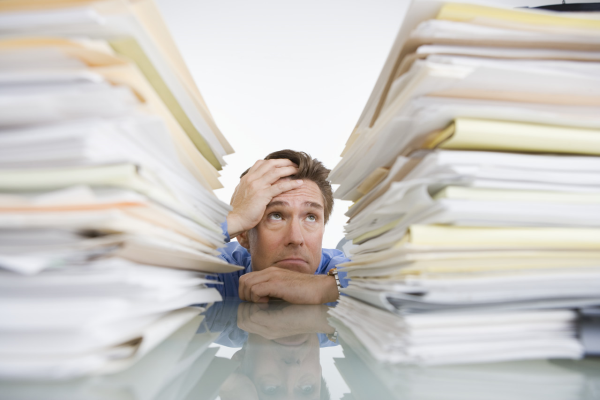 environmental data management might leave your CEO feeling like this