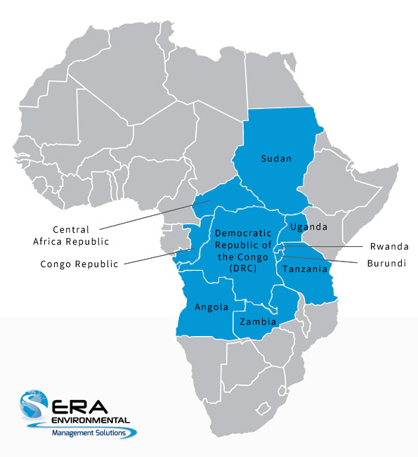 conflict minerals map