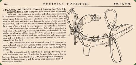 Vintage Safety Seat Belt