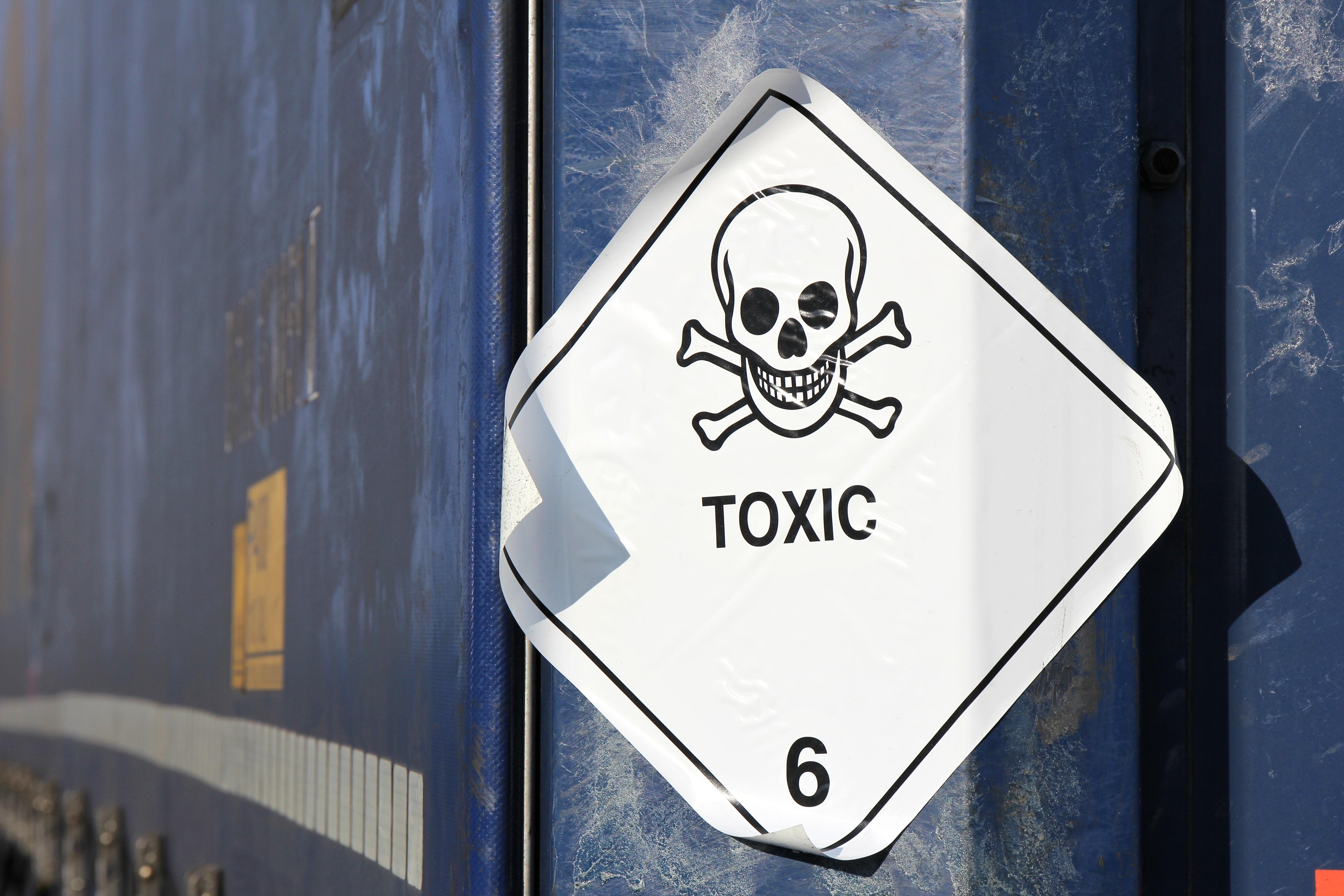 GHS pictogram for chemical hazard toxic substances