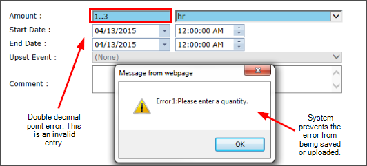 An EH&S Software system can catch and prevent manual data entry errors